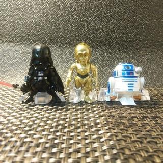 バンダイ(BANDAI)の3体セット  コンバージ ダースベイダー C-3PO  R2-D2(SF/ファンタジー/ホラー)