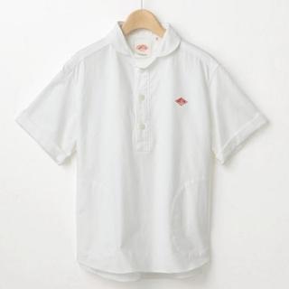 ダントン(DANTON)の美品☆DANTON(ダントン)プルオーバーワークシャツ☆ (シャツ/ブラウス(半袖/袖なし))