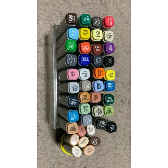 TOOLS(ツゥールズ)のコピック36色 プラス 肌色セット gwセール エンタメ/ホビーのアート用品(カラーペン/コピック)の商品写真
