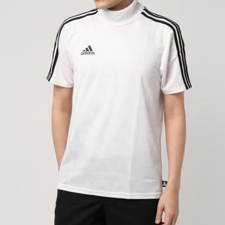 アディダス(adidas)のadidas タンゴ モックネック tシャツ(Tシャツ/カットソー(七分/長袖))