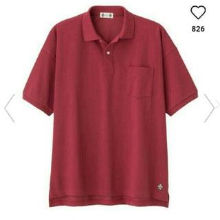 ジーユー(GU)のGUスタジオセブンビッグポロ五分袖メンズMサイズ(ポロシャツ)