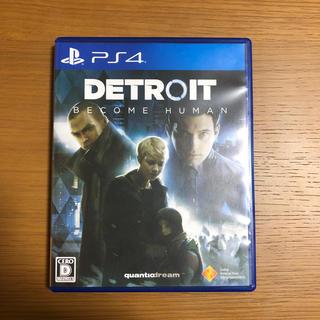 ソニー(SONY)のPS4 DETROIT BECOME HUMAN (家庭用ゲームソフト)