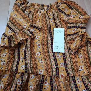 シマムラ(しまむら)の二枚セット チュニックブラウス 140(Tシャツ/カットソー)