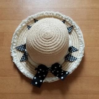 マザウェイズ(motherways)の女児 帽子 サイズ 56㎝  (帽子)