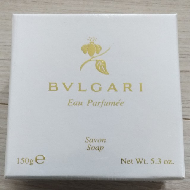 BVLGARI(ブルガリ)のBVLGARI 石鹸 新品 未開封 コスメ/美容のボディケア(ボディソープ / 石鹸)の商品写真