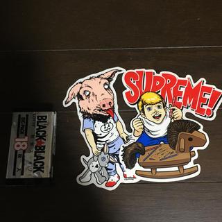 シュプリーム(Supreme)のSupremeステッカー二種(ステッカー)