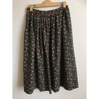 ミナペルホネン(mina perhonen)のサリースコット 小花柄スカート(ロングスカート)