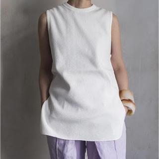 フィーニー(PHEENY)のpheeny    ハニカム バックスリット ワッフルT(Tシャツ(半袖/袖なし))