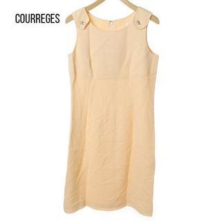 9c37e8f78f8cf Courreges - courreges(クレージュ)の古着「ノースリーブワンピース(ワンピース)」