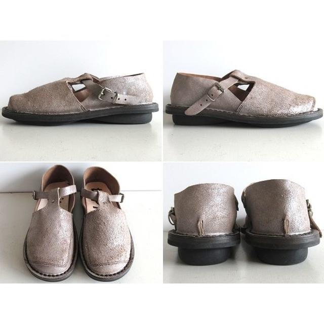 trippen(トリッペン)の新品 定価46440円 トリッペン 18SS WALKER レザーシューズ 35 レディースの靴/シューズ(ローファー/革靴)の商品写真