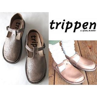 トリッペン(trippen)の新品 定価46440円 トリッペン 18SS WALKER レザーシューズ 35(ローファー/革靴)