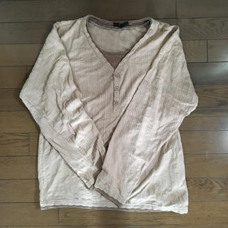ラルフローレン(Ralph Lauren)の90s レイヤード  100パーセントコットンロンティー(Tシャツ/カットソー(七分/長袖))
