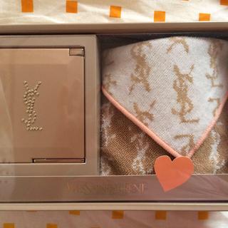 サンローラン(Saint Laurent)のハンカチ&ミラーセット♡(日用品/生活雑貨)