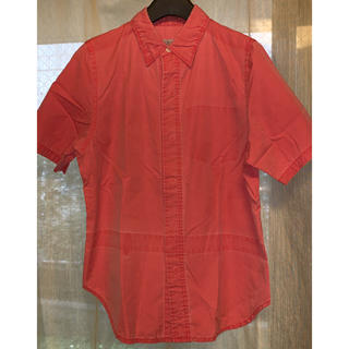 アンダーカバー(UNDERCOVER)のUNDERCOVER レリーフ期 ボタンダウンシャツ ピンク(シャツ/ブラウス(半袖/袖なし))