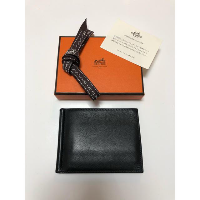 66ec1de845a1 Hermes(エルメス)のHERMES エルメス 折り財布 マネークリップ ポーカー メンズのファッション小物(