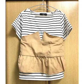 シマムラ(しまむら)のしまむら ビスチェ付きTシャツ(カットソー(半袖/袖なし))