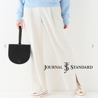 ジャーナルスタンダード(JOURNAL STANDARD)の試着のみ☆journalstandard☆NEU☆サイドスリットパンツ(カジュアルパンツ)