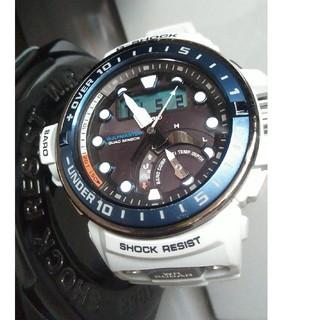 ジーショック(G-SHOCK)のG-SHOCK ガルフマスター GWN-Q1000 ホワイト(腕時計(アナログ))
