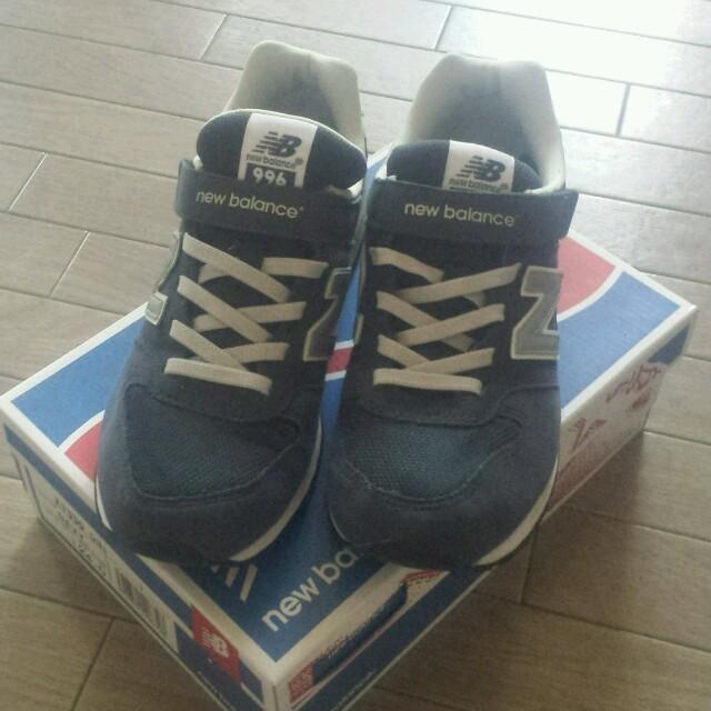 eb91ba163c038 New Balance(ニューバランス)のニューバランス996*キッズ24㎝ レディースの靴/