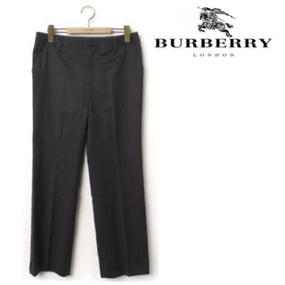 バーバリー(BURBERRY)のBurberry スラックスパンツ メンズ ブラック 黒(スラックス)