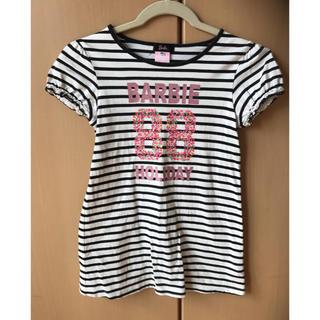 バービー(Barbie)のBarbie 長袖 カットソー ワンピース サイズ140センチ(ワンピース)