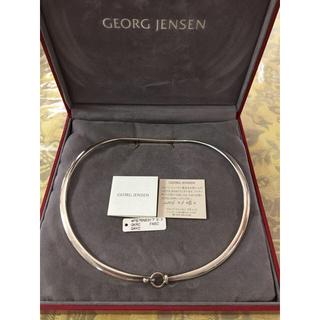 ジョージジェンセン(Georg Jensen)のジョージジェンセン  DEW DROP ネックリングスターリングシルバー (ネックレス)