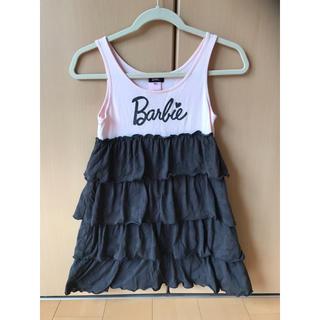 バービー(Barbie)のBarbie 半袖 ワンピース サイズ140センチ(ワンピース)