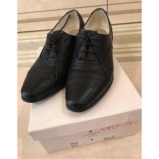 ランバンオンブルー(LANVIN en Bleu)のランバンオンブルー ひもローファー(ローファー/革靴)