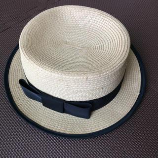 スナイデル(snidel)のsnidel カンカン帽(麦わら帽子/ストローハット)
