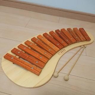 ボーネルンド(BorneLund)のボーネルンド BorneLund パレットシロフォン 木琴(楽器のおもちゃ)