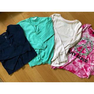 ギャップ(GAP)のGAP等 カーディガン、ロンTセット130(Tシャツ/カットソー)