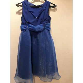 dcd3a65b48bc3 キャサリンコテージ(Catherine Cottage)の 値下げ 青いドレス・140cm(ドレス