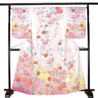 リズリサ(LIZ LISA)の【京都国産絵羽浴衣】薔薇浴衣・花柄浴衣・高級浴衣(浴衣)