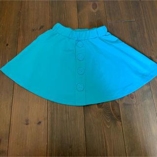 ジーユー(GU)のミニスカート 120女児(スカート)