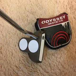 キャロウェイゴルフ(Callaway Golf)の⛳️一世風靡したツーボールパター‼️オデッセイWHITE ICE「2-BALL」(クラブ)