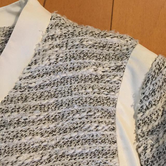 JEANASIS(ジーナシス)のジーナシス ジップジャケット レディースのジャケット/アウター(ノーカラージャケット)の商品写真