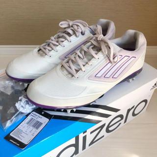 アディダス(adidas)のadidas アディダス ゴルフ シューズ レディース 23 adizero(シューズ)