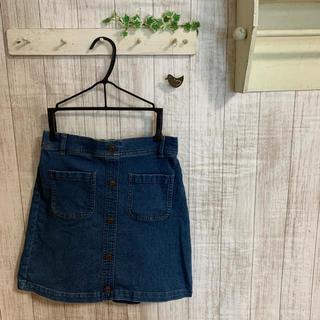 ジーユー(GU)のデニムスカート 150(スカート)