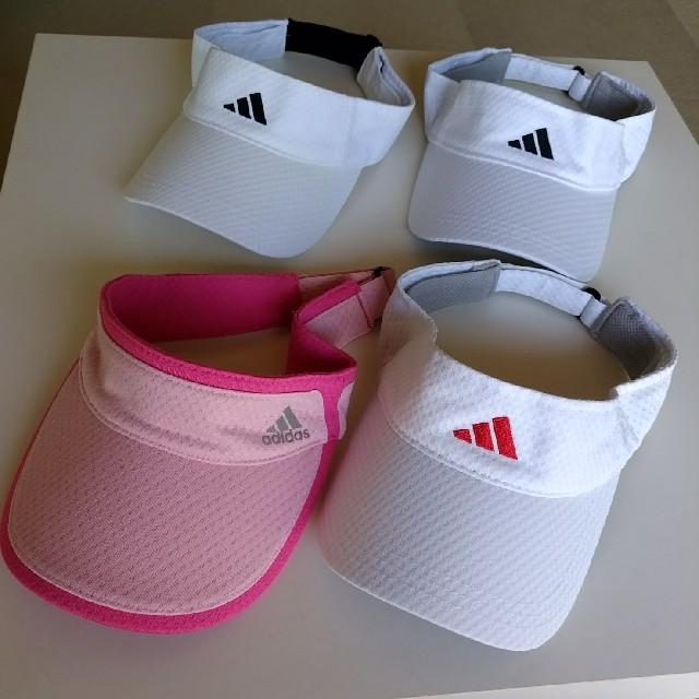 adidas(アディダス)のadidas*サンバイザー*アディダス レディースの帽子(その他)の商品写真