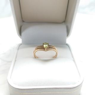 ジュエリーマキ(ジュエリーマキ)の■K9 ペリドット  デザインリング(リング(指輪))