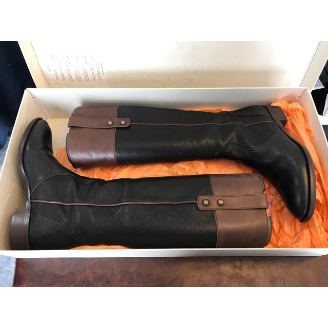Feed you(フィージュ)のロングブーツ ブラック レディースの靴/シューズ(ブーツ)の商品写真