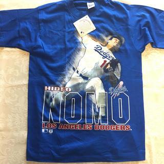アディダス(adidas)の野茂英雄 Los AngelsDodgers Tシャツ 新品未使用 MLB(記念品/関連グッズ)