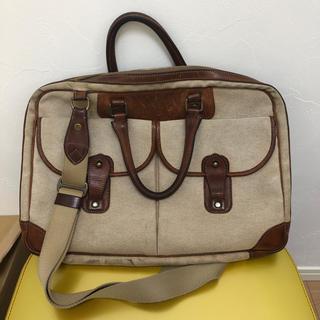 別出品の万双 双鞣和地 ファスナー付トート のおまけバッグ(ビジネスバッグ)