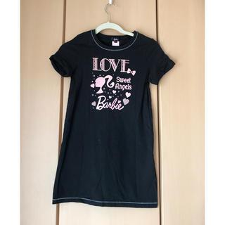 バービー(Barbie)のBarbie 半袖 ワンピース サイズ1 150センチ(ワンピース)