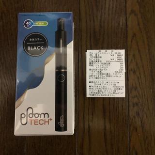 プルームテック(PloomTECH)の【新品未開封】Ploom TECH+(プルームテックプラス)黒 (タバコグッズ)
