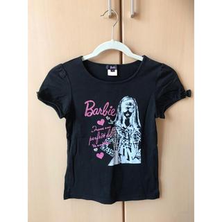 バービー(Barbie)のBarbie 半袖 カットソー サイズ1 150センチ(ワンピース)