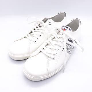 Admiral - 未使用 新品 アドミラル スニーカー 白 25.5 UK7 靴 メンズ