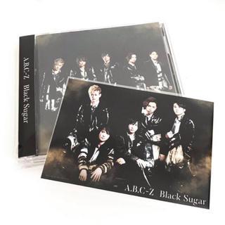 エービーシーズィー(A.B.C.-Z)のA.B.C-Z Black Sugar 初回A CD&DVD 特典フォト付  (ポップス/ロック(邦楽))