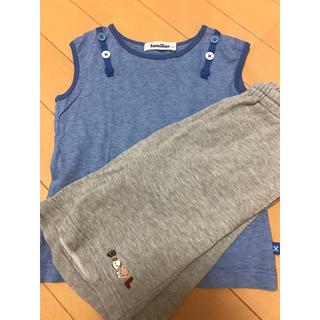 ファミリア(familiar)のファミリア ノースリーブ&短パン(Tシャツ/カットソー)