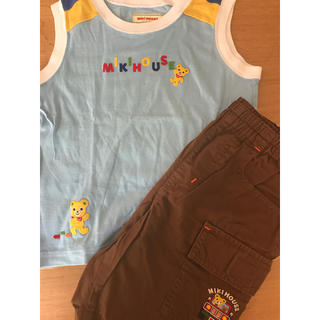 ミキハウス(mikihouse)のミキハウス ノースリーブ&短パン(Tシャツ/カットソー)